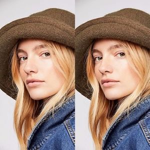 Free People Devon Wool Bucket Hat